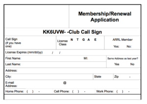 SPARC Membership Application