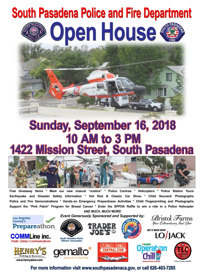 2018 Public Safety Open House